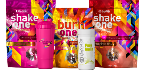 Pachet One Diet + Pure Inulin + Shaker Roz
